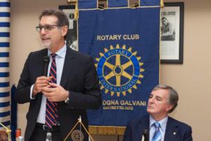Sindaco Merola al Rotary Club Galvani di Bologna